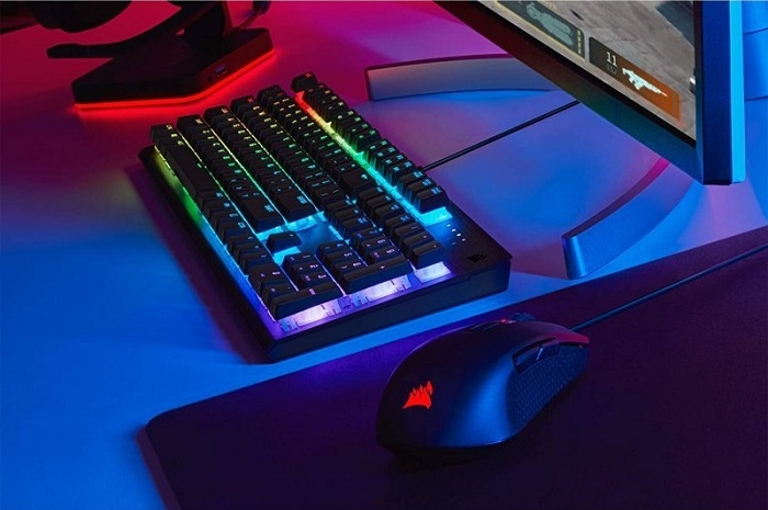 Corsair K60 RGB Pro, Rollover