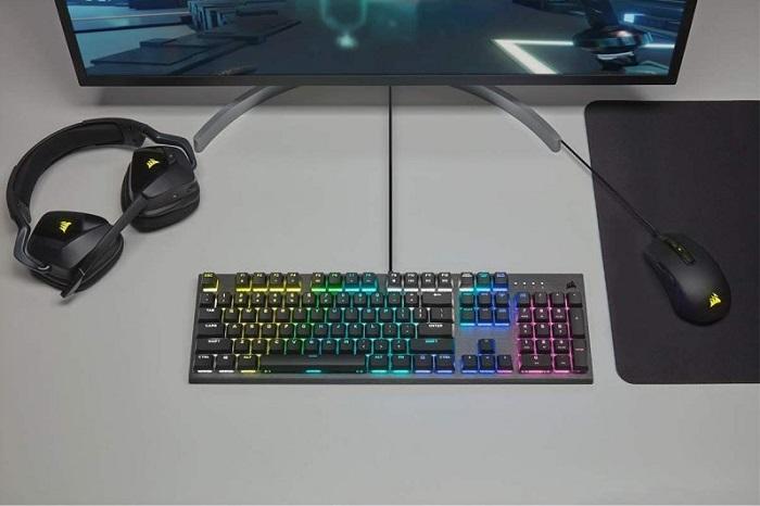 Corsair K60 RGB Pro, gaming