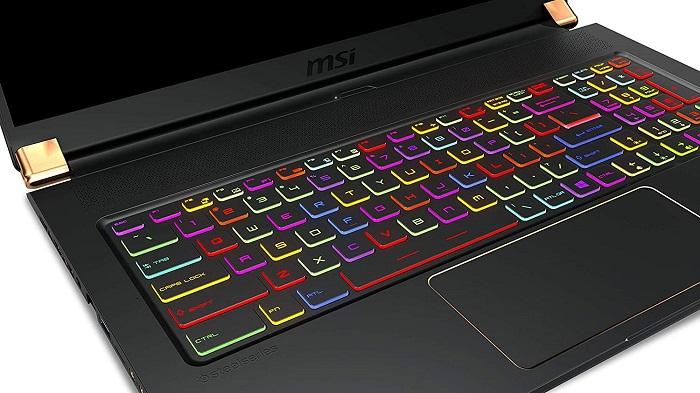 MSI GS75 Stealth 10SE-816XES, teclado