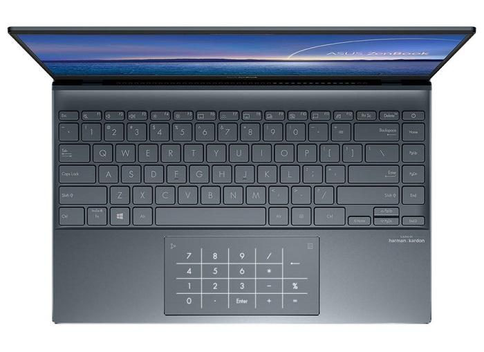 ASUS ZenBook 14 UX425EA-HM165T, teclado