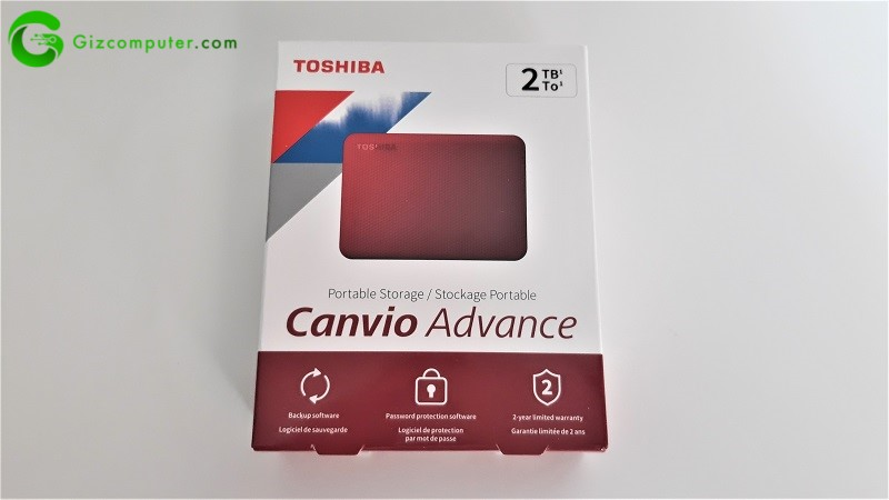 Toshiba Canvio Advance
