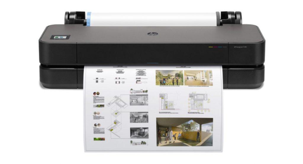 HP DesignJet T230 - Impresión