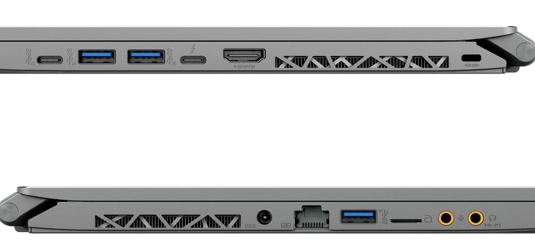 MSI WS66 10TL-280ES - Conectividad