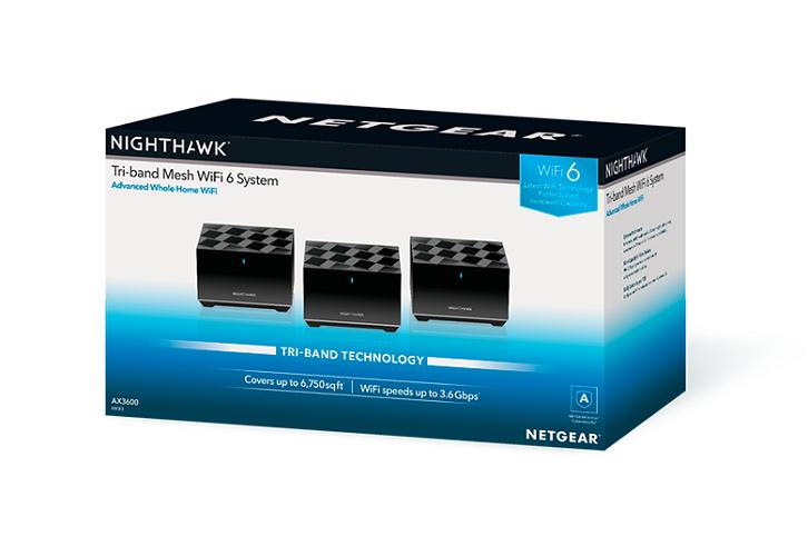 Nighthawk Tri-band Mesh WiFi 6
