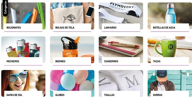 Opciones regalos personalizados