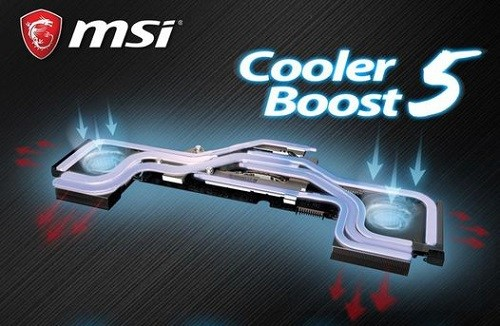 MSI GE66 Raider 10UG-403XES MSI Cooler Boost 5
