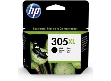 Cartucho de tinta Original HP 305XL de alta capacidad negro