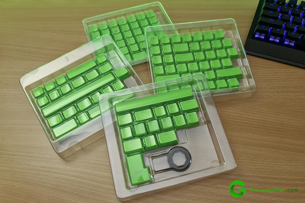 Kit de personalización de teclados Razer