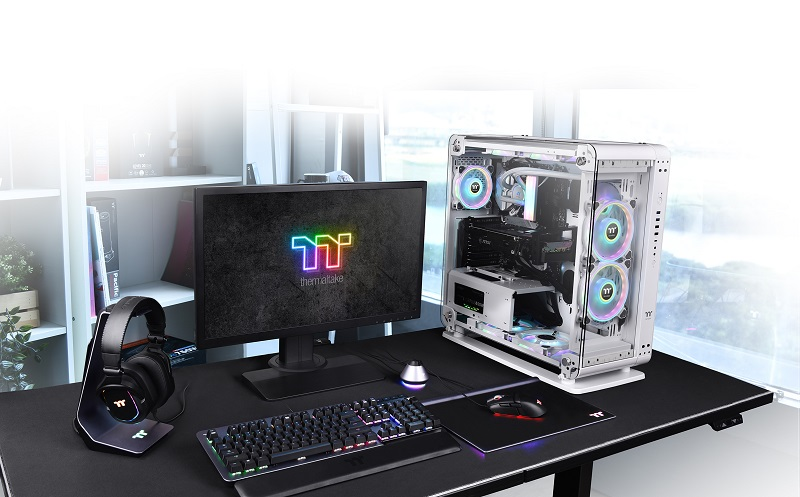 Thermaltake Core P6 Tempered Glass Snow Mid Tower