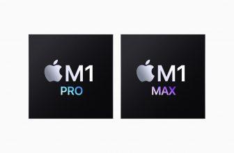 M1 Pro y el M1 Max de Apple