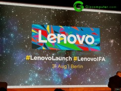 #IFA17: Presentación de Lenovo