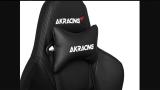 AKRacing Masters Series Premium, calidad y confort en esta silla negra.