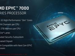 AMD EPYC 7000 ha sido presentada oficialmente: todos los detalles.