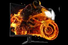 Nuevo monitor gaming AOC CQ32G1 curvo Quad HD