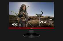 Ya disponible el monitor gaming AOC G2590FX