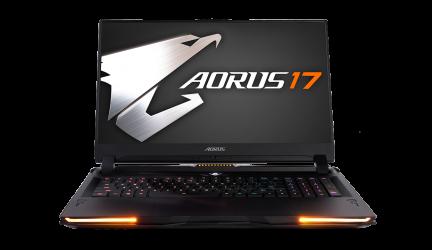 AORUS 17, el nuevo superportátil gaming de Gigabyte