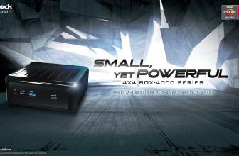ASRock 4X4 BOX-4000 Series, gama de MiniPCs con CPU Ryzen