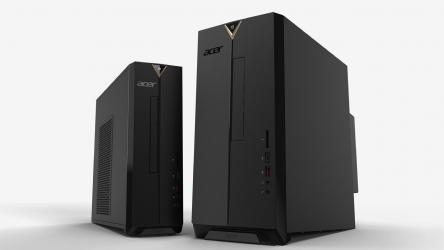 Acer Aspire XC-886, PCs de escritorio elegantes y funcionales