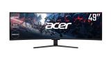 Acer Nitro EI491CRP, un enorme monitor gaming curvo