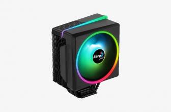 AeroCool Cylon 4F, un cooler de CPU superluminoso