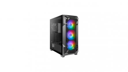 Antec DF600 FLUX, chasis gaming repleto de iluminación