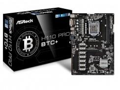 Asrock H110 Pro BTC+, conviértete en un minero con garantías