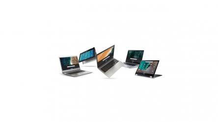 Chromebook de Acer, presentada la más reciente serie de estos equipos