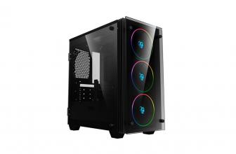 Coolbox DeepRainbow, color y versatilidad en esta carcasa de PC gaming