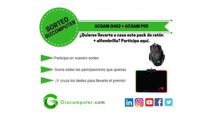 SORTEO: ACGAM P09 + ACGAM G402, ratón + alfombrilla gratis