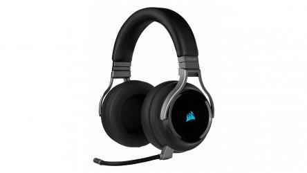 Corsair Virtuoso, auriculares gaming RGB de alta fidelidad inalámbricos
