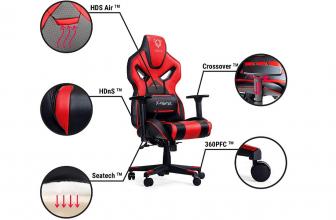 Diablo X-Fighter, una silla gaming que tiene de todo