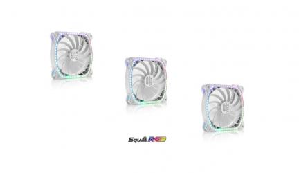 Enermax SquA RGB White, nueva edición de los ventiladores cuadrados