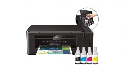 Epson ET-2600, práctica impresora con impresión por inyección de tinta.