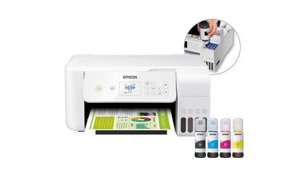 Epson EcoTank ET-2726, impresora inalámbrica y compacta recargable