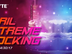 GIGABYTE April Extreme Clocking 2017