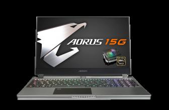 Gigabyte Aorus 15G, un portátil supergaming de alto rendimiento