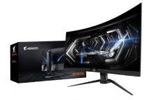 Gigabyte Aorus CV27Q, nuevo monitor gaming de panel curvo