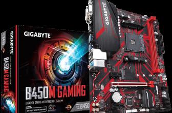 Presentada la Gigabyte B450M Gaming