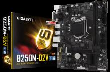Gigabyte GA-B250M-D2V, la placa que demanda tu equipo de oficina