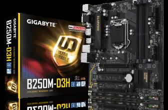 Gigabyte GA-B250M-D3H, fiabilidad y conectividad de nueva generación