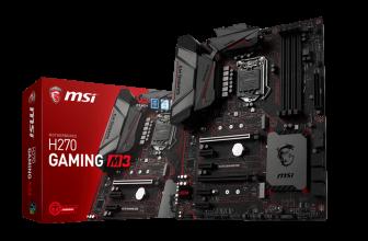MSI H270 Gaming M3, otra novedad en placas base de MSI.