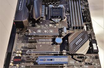 MSI Z270 Gaming Pro Carbon: Intel i5 6600K vs i5 7600K.