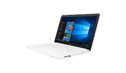 HP 15-DA0009NS, ¿cómo es este ordenador portátil de color blanco?