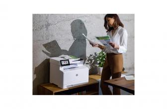 HP Color Laserjet Pro M479fdn, impresora multifunción para la oficina
