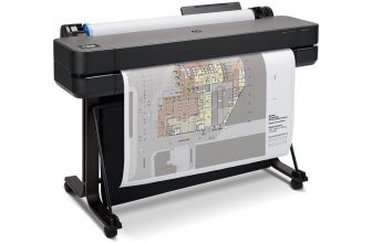 HP DesignJet T630, plotter de 36″ a color con base integrada
