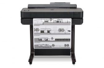 HP DesignJet T650, plotter a color de 24″ para pymes