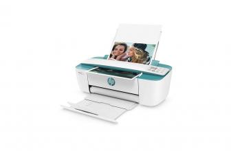 HP DeskJet 3762, bonita y estética impresora de color verde