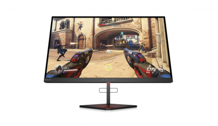 HP Omen X 25 y Omen X 25f, un par de monitores muy gaming