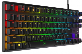 HyperX Alloy Origins, teclado gaming de Kingston con pulsadores HyperX Aqua