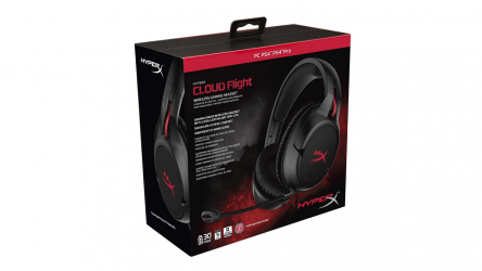 HyperX Cloud Flight S, auriculares inalámbricos cómodos para gamers